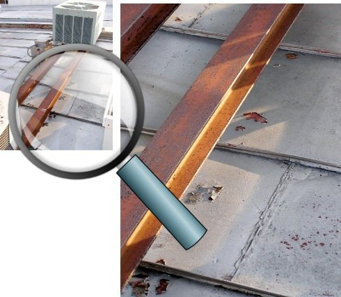 Rusty Rooftop Dunnage