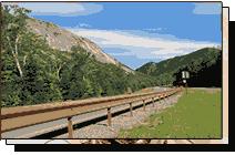 Franconia Notch guardrails